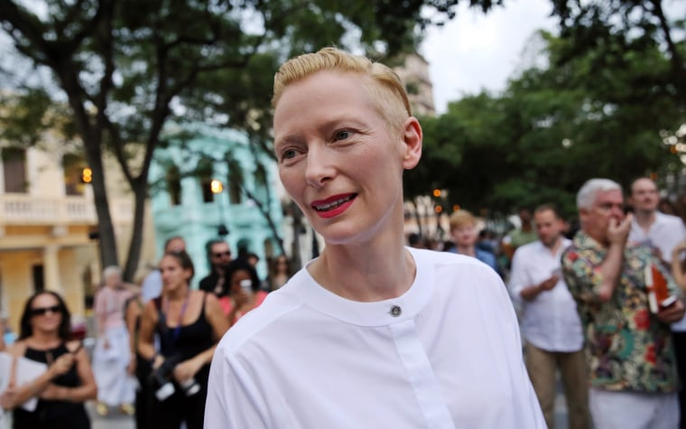Image: Fashion show of French fashion house Chanel in Havana
