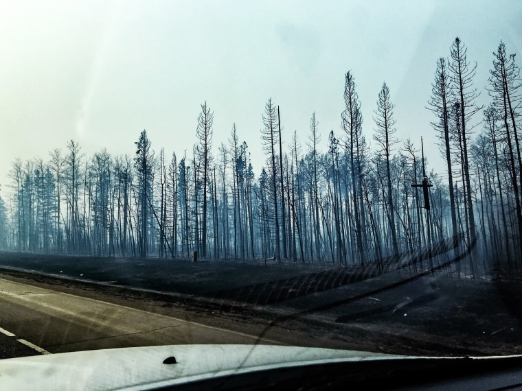 Image: Wildfire in Fort McMurray