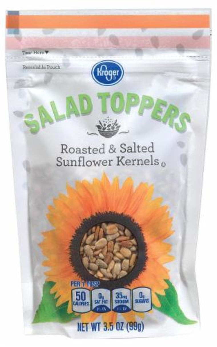 Kroger and other stores have recalled some sunflower seeds that may be contaminated with Listeria