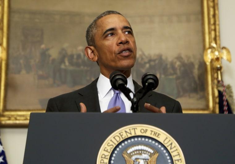 Obama Makes Statement On Iran
