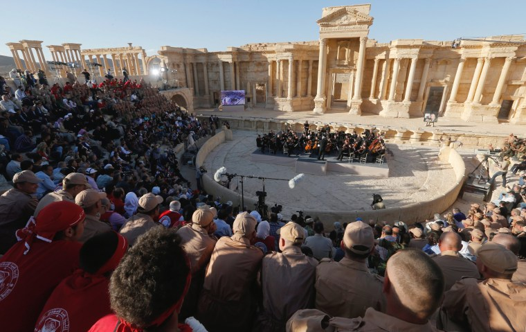 Image: Mariinsky Orchestra concert in Palmyra