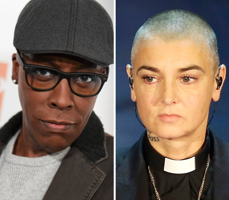 Aresnio Hall and Sinead O'Connor
