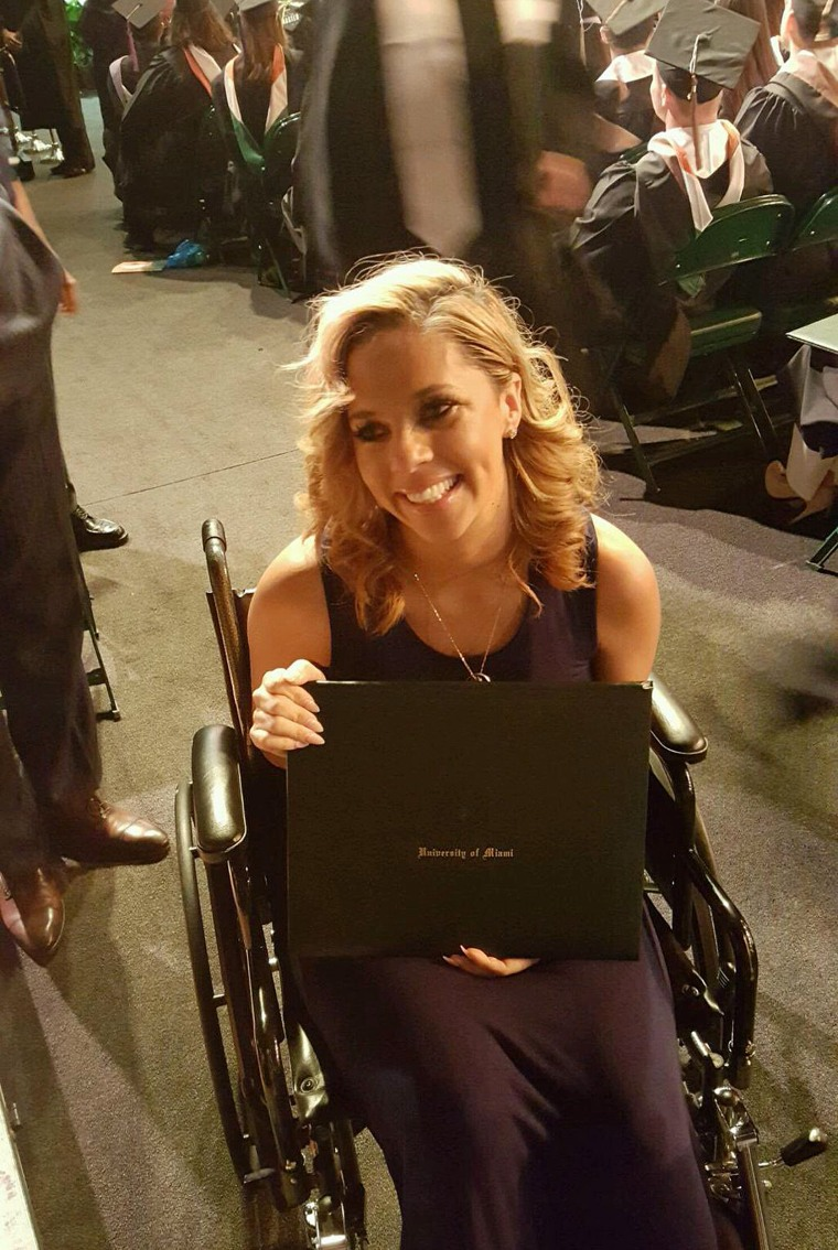 Will Smith's widow, Racquel, accepted his graduate degree posthumously during a University of Miami commencement ceremony.
