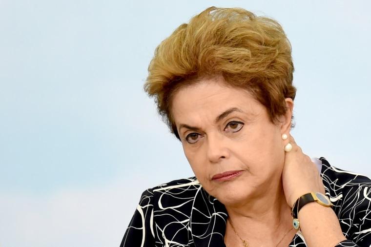 Image: BRAZIL-ROUSSEFF-IMPEACHMENT-CRISIS