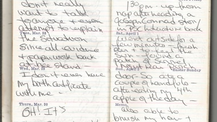 Linda Bishop left behind a journal that described her delusions and efforts to stay alive.
