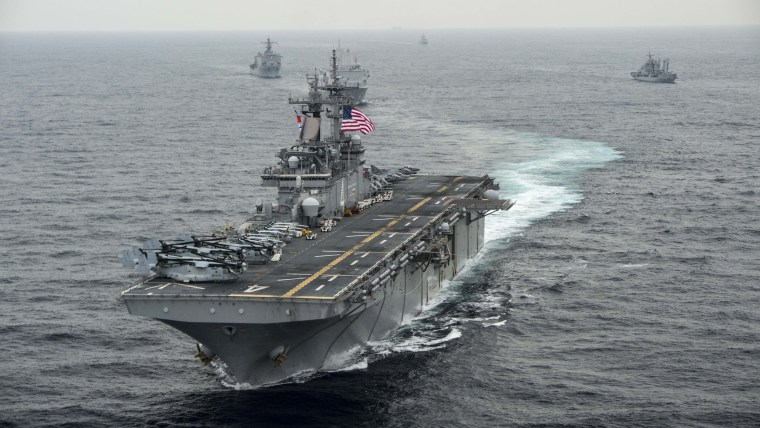 Image: U.S. Warships Participate In Exercise Ssang Yong 2016