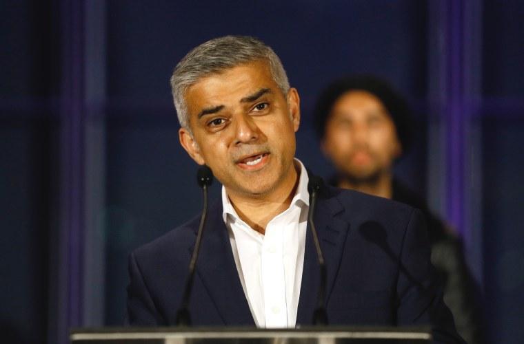 Image: Sadiq Khan, London Mayor elected