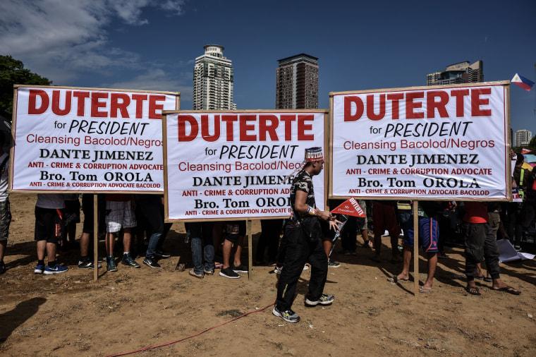 Image: PHILIPPINES-VOTE