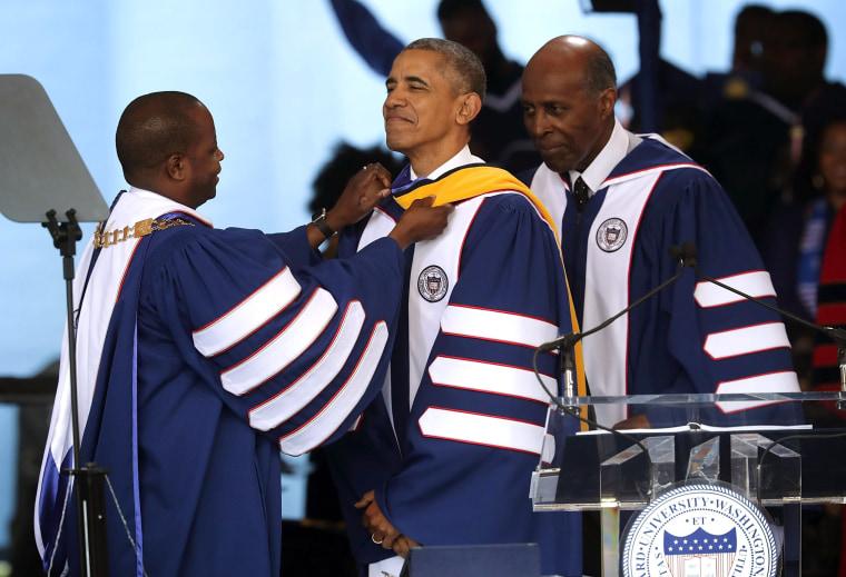 Image: President Obama Delivers Commencement Address At Howard University