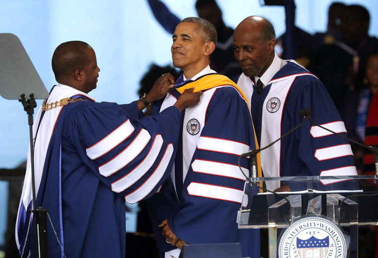 Image: President Obama Delivers Commencement Address At Howard University