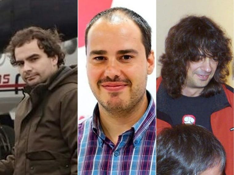 Image: Freed Spanish journalists