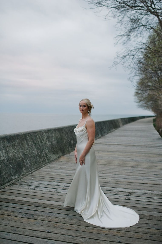 Elise Phillippo, fort mcmurray wedding dress