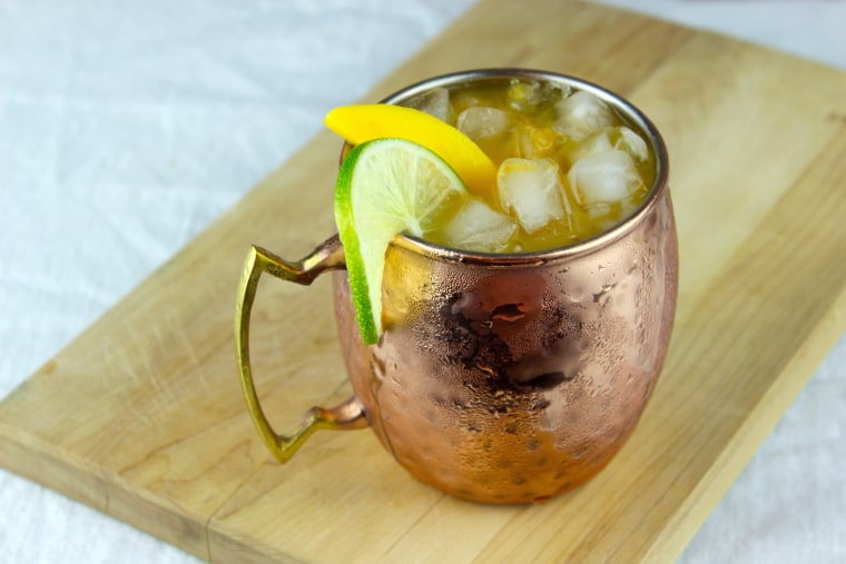 Summer cocktail recipe: mango Moscow mule