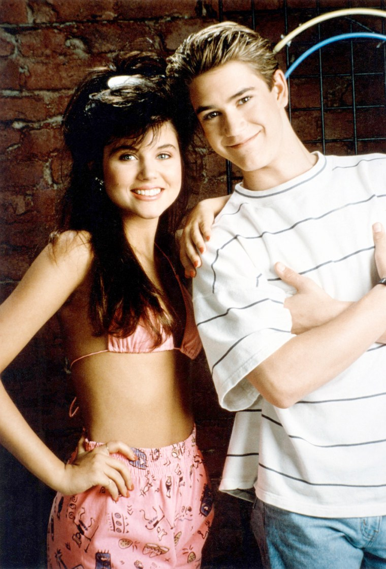 Tiffani-Amber Thiessen, Mark-Paul Gosselaar