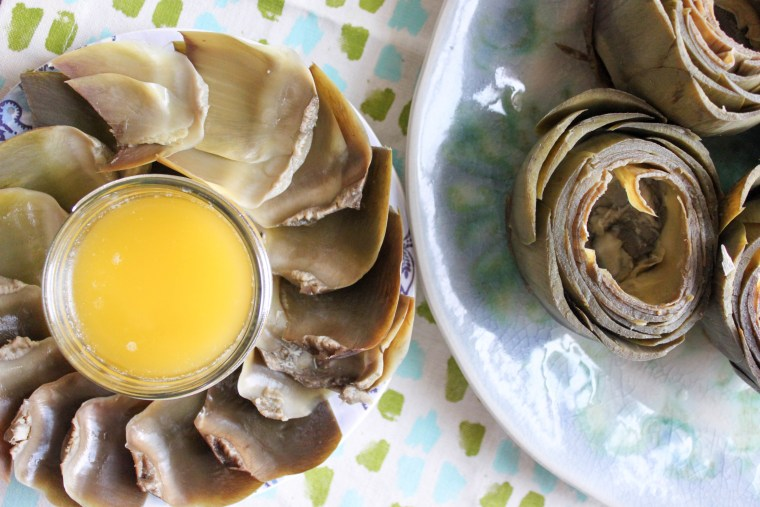 How to steam artichokes in the slow cooker