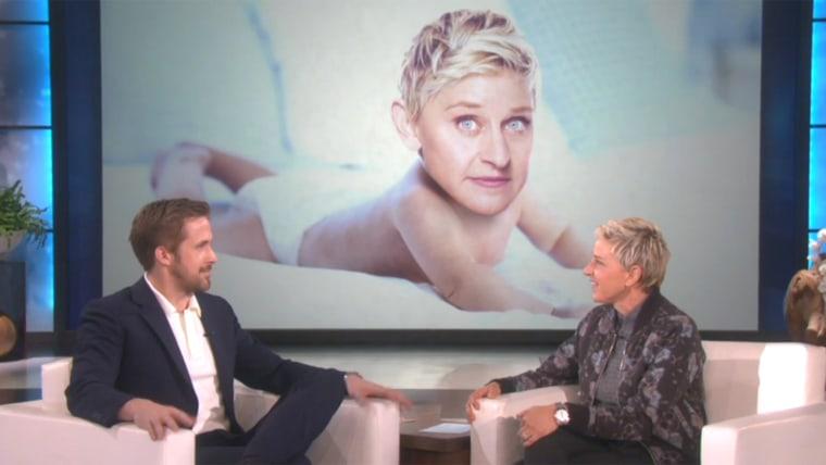 Ryan Gosling on Ellen