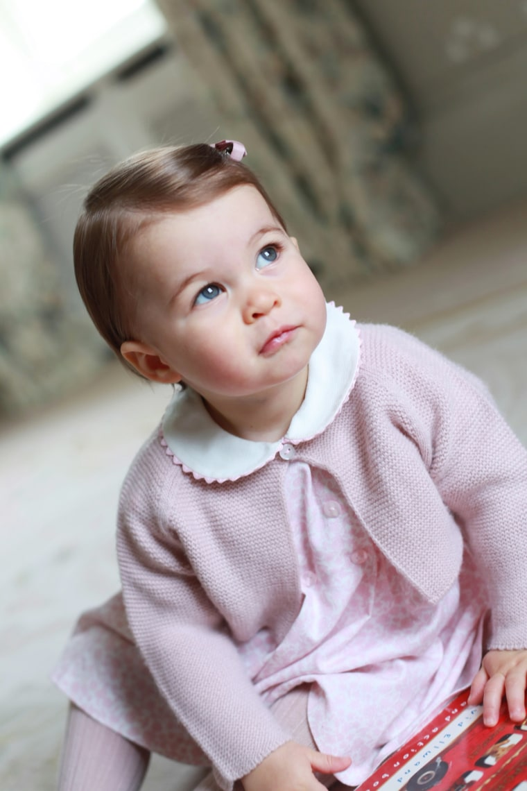 Image: Princess Charlotte's first birthday