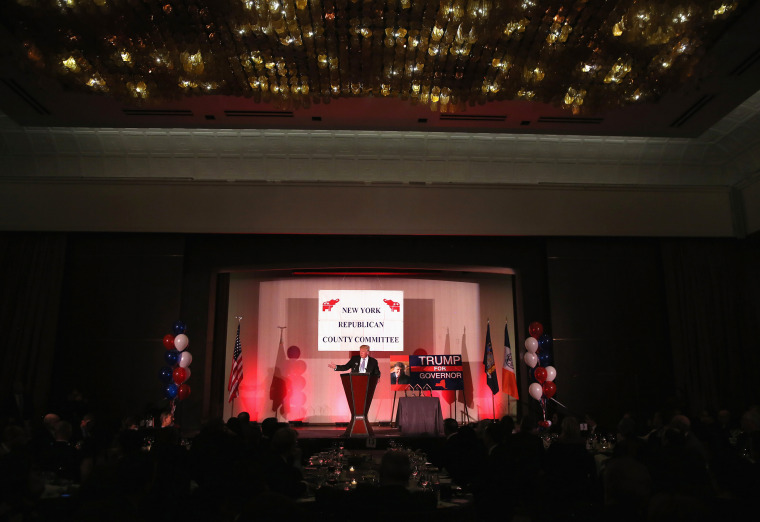 Image: Trump speaks at the New York County Republican Committee Annual Lincoln Day Dinner