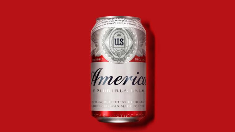 Budweiser America Branding