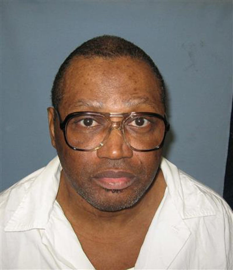 Image: Death row inmate Vernon Madison is pictured in handout photo