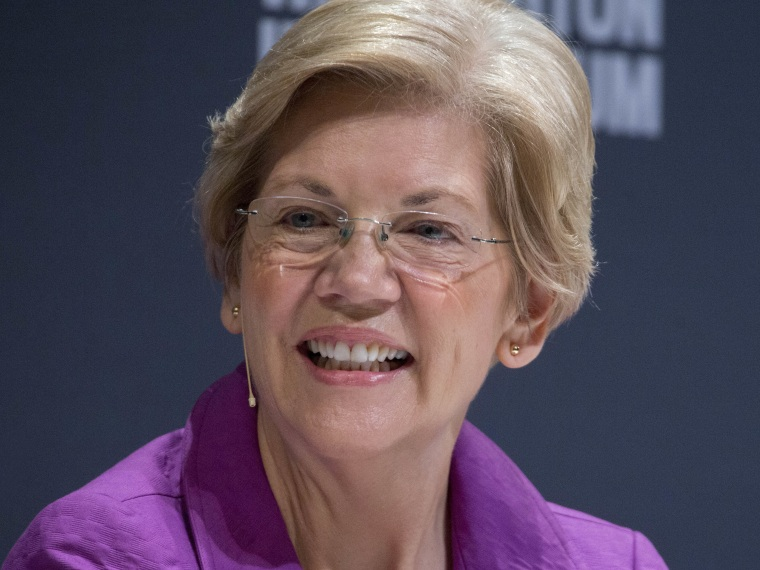 Elizabeth Warren, Jeff Weiner And Al Gore Speak At The Washington Ideas Forum
