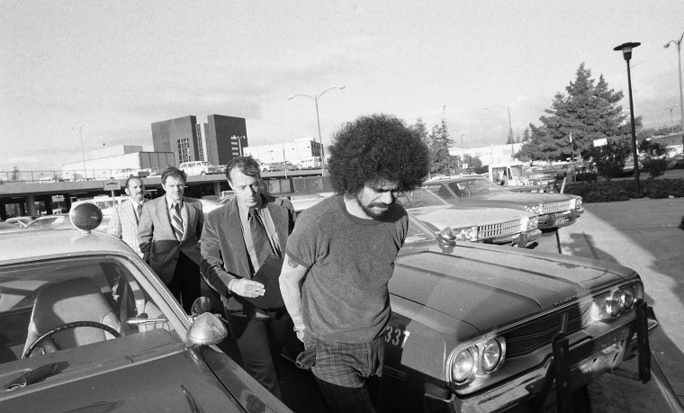 Former Tower of Power lead singer, Rick Stevens, is arrested on Feb. 19, 1976 for multiple murders committed in Boulder Creek and San Jose.
