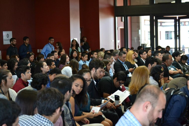 Latino coders participate and learn at the first Latinos On Fast Track Coder Summit.