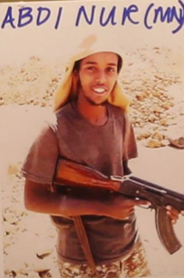 Abd Al Fatah Nour also know by his fighter name: Abu Sleiman Al Somali.