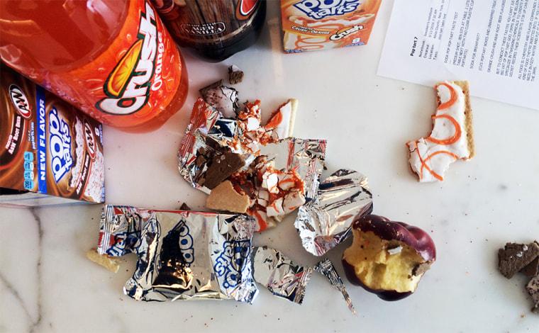 Orange Crush and A&W Root Beer Pop-Tart taste test
