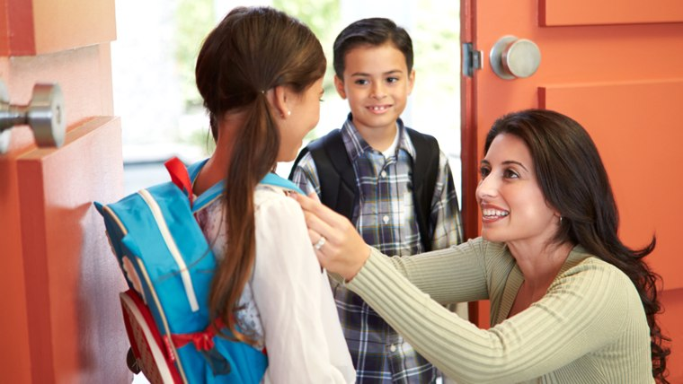 Getting kids out the door for school