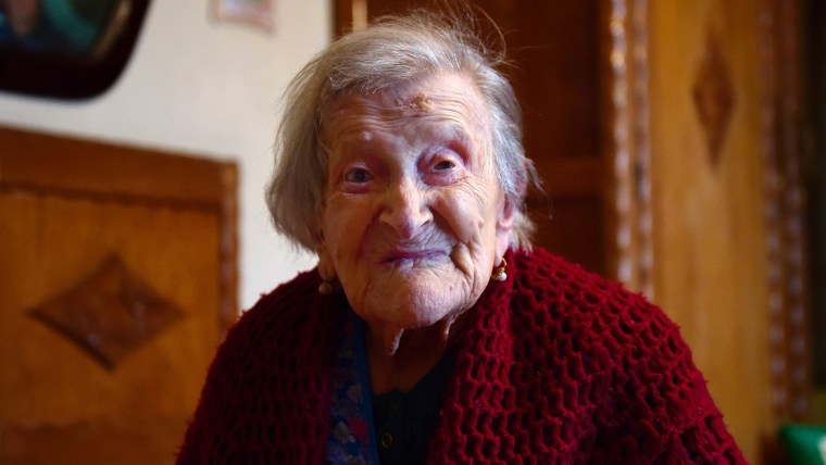 Emma Morano, oldest living person in the world.