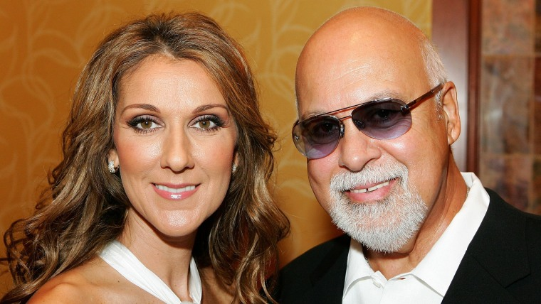 Celine Dion and her husband and manager Rene Angelil in 2006