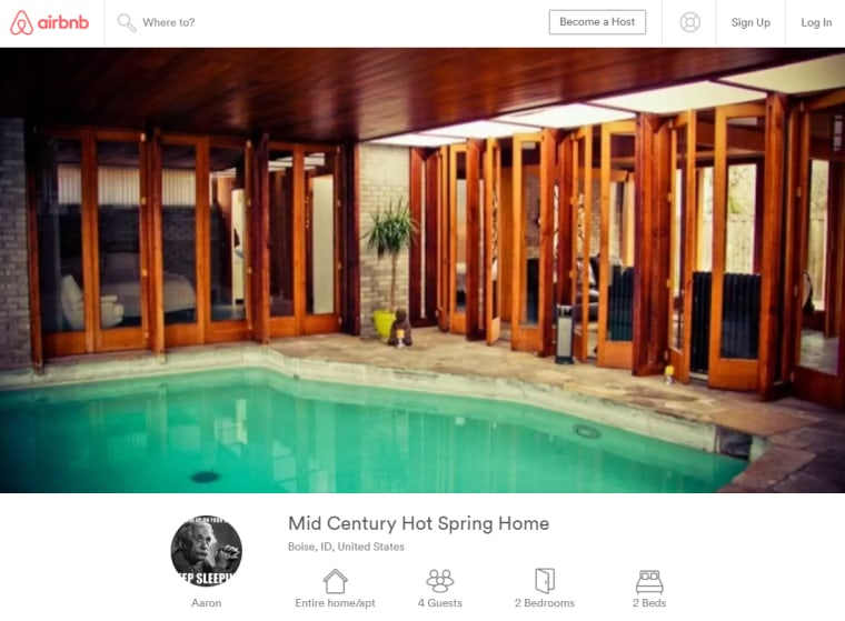 Aaron Paul lists home on Airbnb