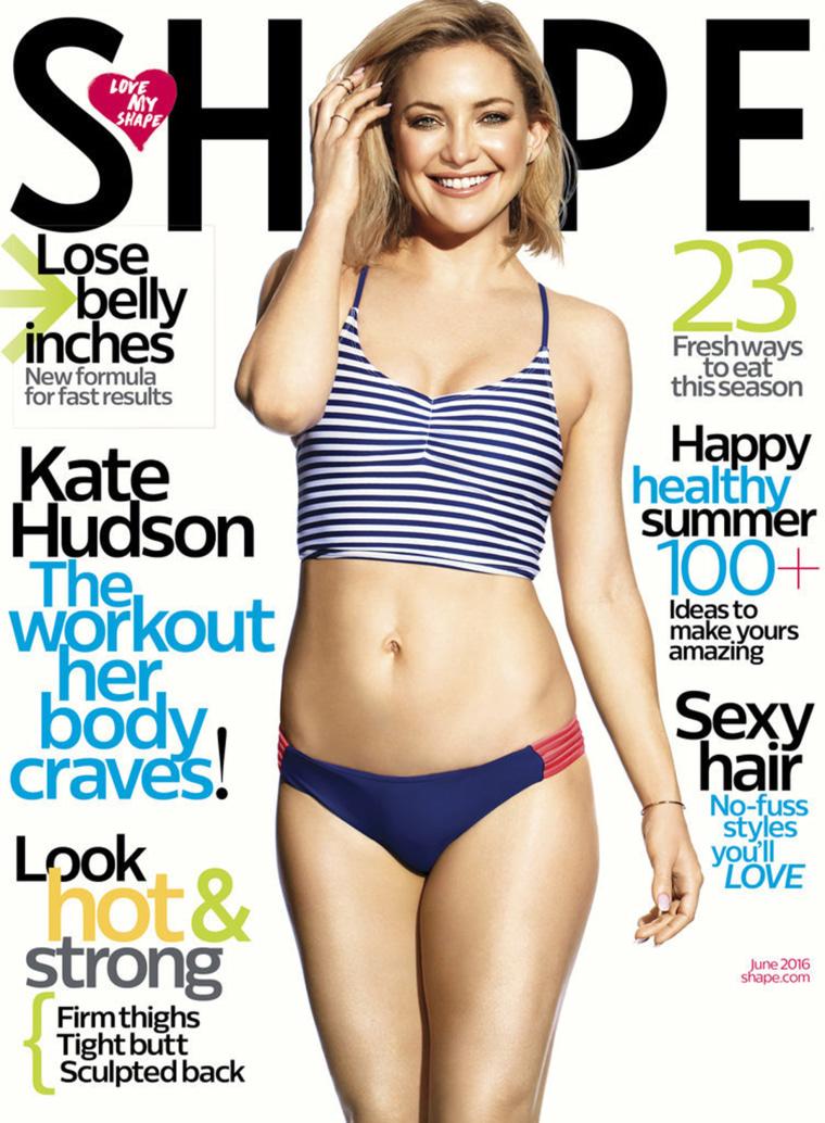 """Kate Hudson """"Shape"""" Magazine"""
