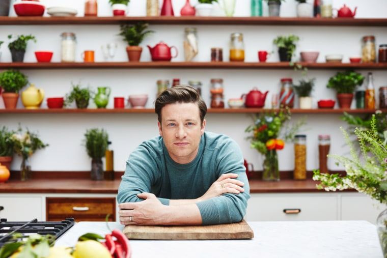 Jamie Oliver shares his tips for eating healthier