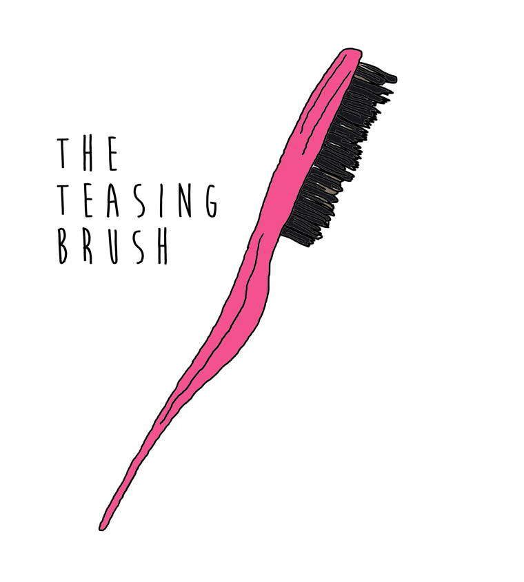 Teasing brush