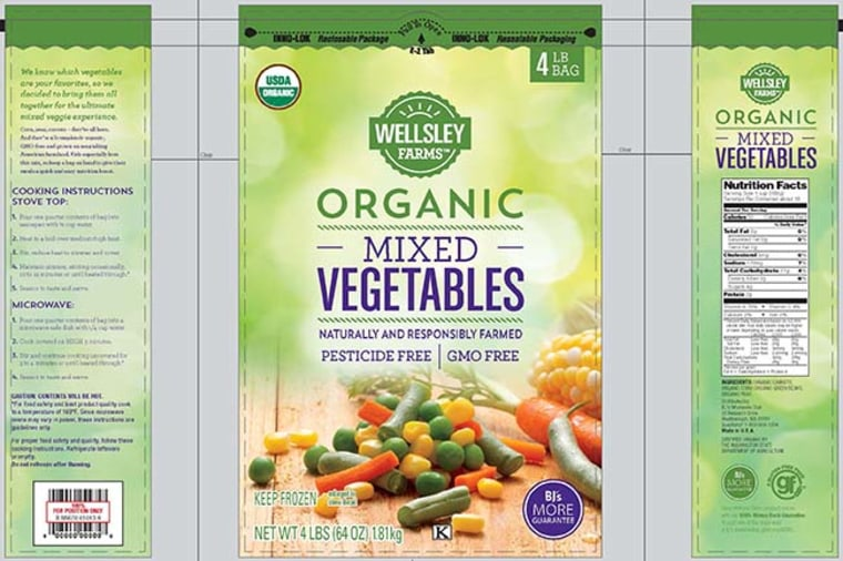 The Food and Drug Administration released images of some of the recalled products.