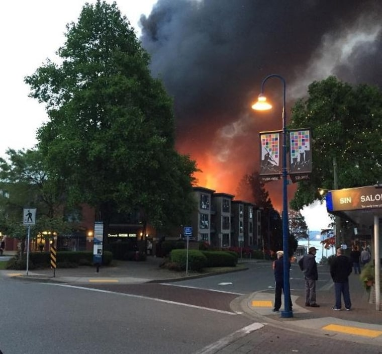 'Stunned': Massive Fire Tears Through Vancouver Apartment Building