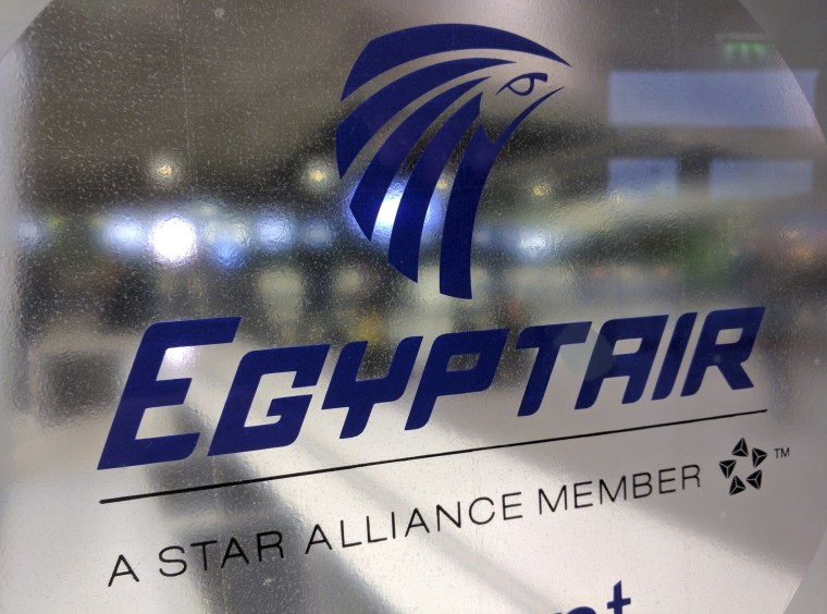 Image: Egyptair counter at Charles de Gaulle Airport outside Paris