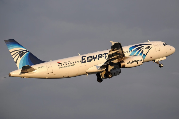 Image: EgyptAir Flight MS804 disappears from radar while en route from Paris to Cairo