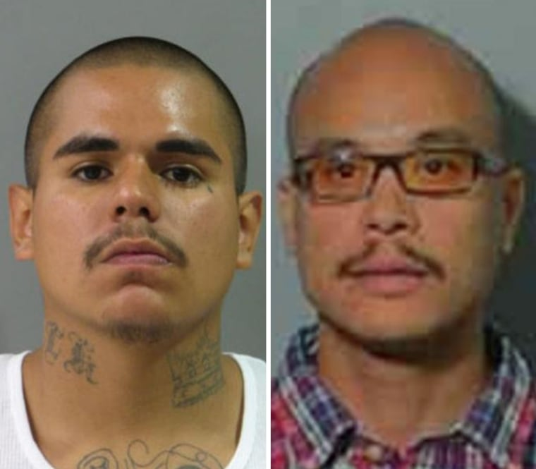 Luis Macedo, left, and Philip Patrick Policarpio have been added to the FBI's 10 Most Wanted list.