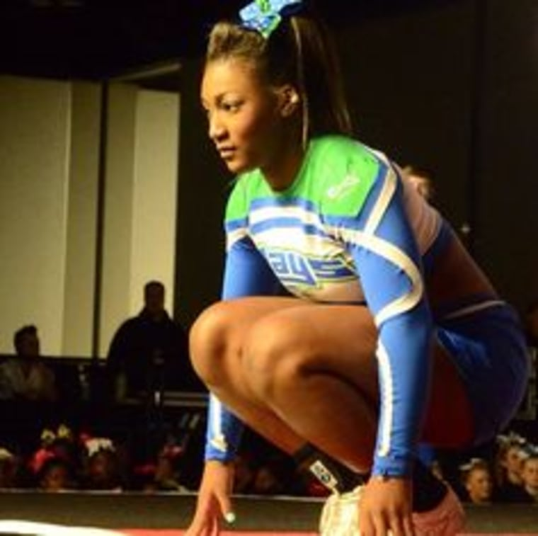 17-year-old Angel Rice has become a trending topic as an emerging tumbling sensation.