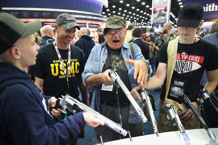 Image: National Rifle Association Holds Annual Meeting In Louisville, KY