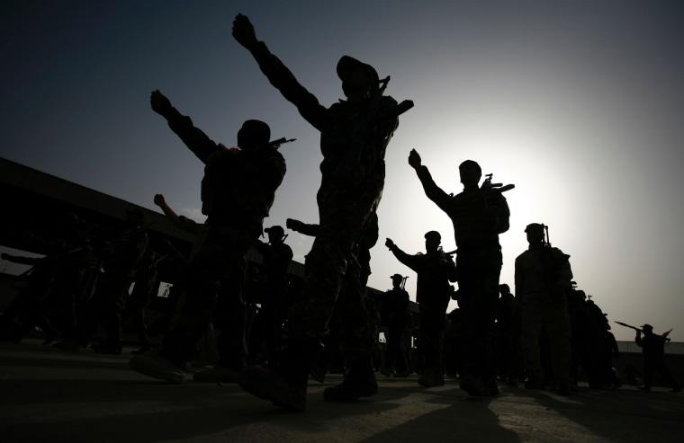 Image: TOPSHOT-IRAQ-CONFLICT-FALLUJAH