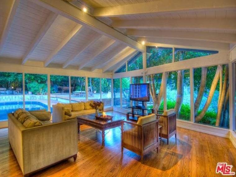 Salma Hayek's Hollywood Hills home