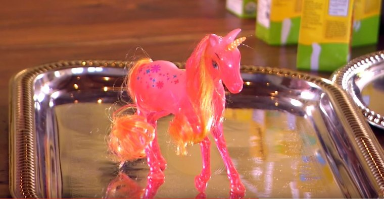 first impression unicorn on The Baby Bachelorette