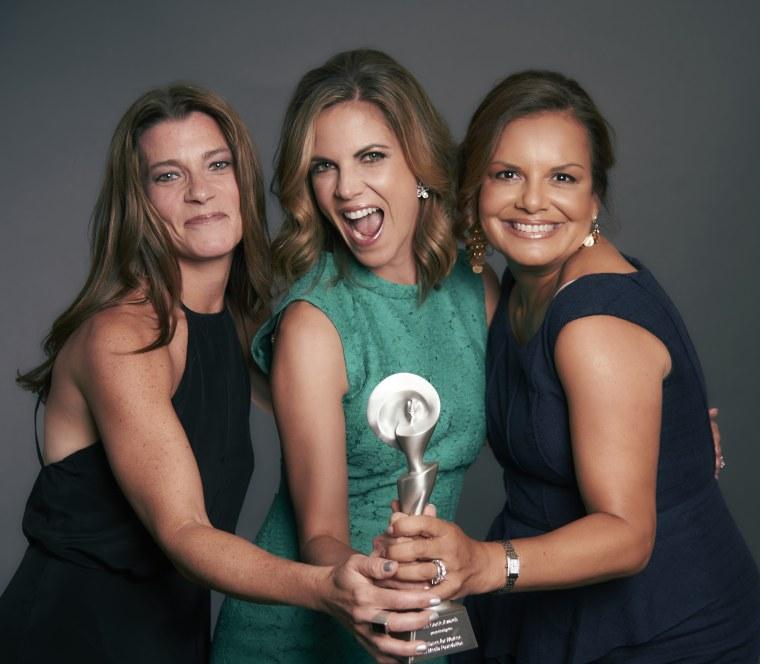 Jaclyn Levin, Natalie Morales, Rachel DeLima