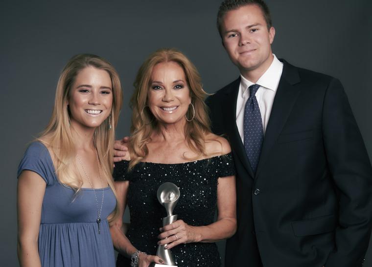 Kathie Lee Gifford, Cody Gifford and Cassidy Gifford