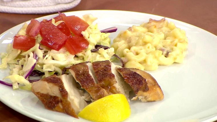 Elizabeth Heiskell's Sweet Tea-Marinated Chicken with Peach Barbecue Sauce