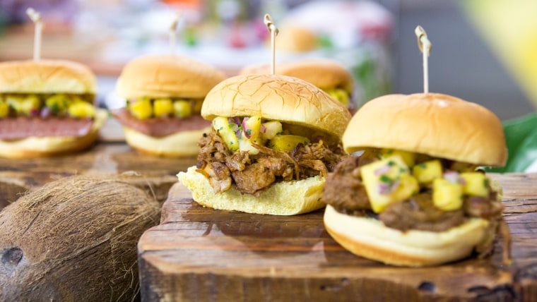 Al Roker's recipe for BBQ pulled pork sandwiches with pineapple salsa